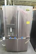 Ge Gfe28gynfs 36 Stainless French Door Refrigerator Nob 112556