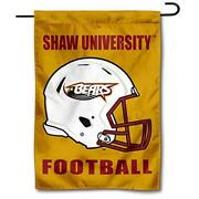 College Flags And Banners Co. Shaw Bears Football Helmet Garden Yard Flag