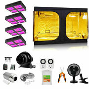 8800w 900 Led Beads Grow Light+carbon Filter+4and039x4and039 Grow Tent Complete Kit