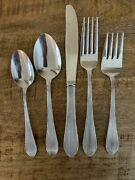 Reed And Barton Select Stainless Flatware Madelaine - 5 Complete Place Settings