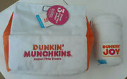 Nwt Dunkin Donuts Bark Dog Toys Munchkins And Coffee Cup Set Limited Edition Rare