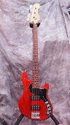 Fender American Deluxe Dimension Bass Iv Hh Made In Usa 2013 U1715