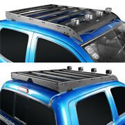 Roof Racks Cargo Baggage Luggage Carrier Fits Toyota Tacoma 05-21 Double Cap 4dr