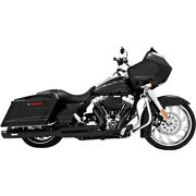 Freedom Perf Black Union 2 Into 1 Exhaust System - Hd00233 No Ship To Ca