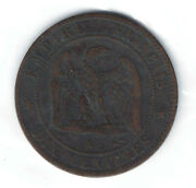 France Coins - 10 Centimes 1856 566