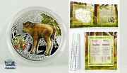 Niue 2014 European Bison Proof W/ Mint Pkg And Coa. Super Cute And Rare Only 2000