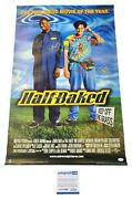 Half Baked Cast Signed 24x34 Poster Dave Chappelle Jim Breuer Tommy Chong Acoa