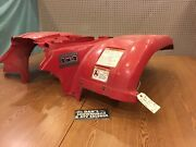 Fender Rear Red 5km-w2161-11-00 Yamaha 2002 Grizzly 660 Atv 4x4 Pick Up Only