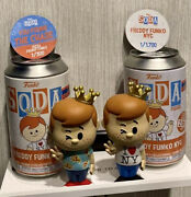 🚨freddy Funko Nyc Soda Pizza Chase 1/300 And Common 1/1700 Combo Limited Edition