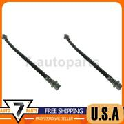 Front Upper Brake Hydraulic Hose Centric Parts 2x Fits 1991-1997 Previa