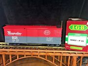 Lgb 4067 F01 Nyc Pacemaker Boxcar New York Central Original Box G Scale