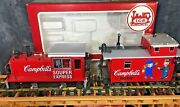 Lgb 70630 Campbell's Soup Diesel Loco And Caboose Souper Express Set G Scale