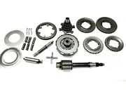Complete Gearbox Clutch Shaft Cross Parts Suitable For Vespa Px200 Scooter @as