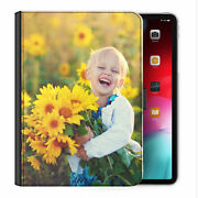 Personalised Universal Tablet Case, Customised Photo/text Flip Pu Leather Cover