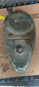 1953 Elgin Outboard Motor Gas Tank And Recoil Starter 5 Hp