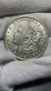 1921-p 1 Morgan Silver Dollar Au Details Cleaned / Cull Cond 041021133