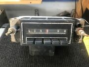 1971-1973 Chevrolet Chevelle Or Caprice Am Pushbutton Radio