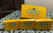 Vintage Dr Scholls Medicated Soap 3 Bars W/box New Old Stock 1930 Antique