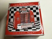 1996 Coca-cola Tabletop Jukebox-musical Bank New Old Stock Never Removed