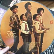 Michael Jackson And The Jackson 5 Picture Disc 14 Greatest Hits, With Poster