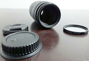 Canon Ef 75-300mm F/4-5.6 Iii Lens With [pro]master 58mm Uv Filter
