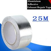 Heat Shield Wrap Tape Exhaust Pipe Parts Reflective Replacement 5cm25m