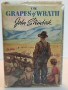1940 The Grapes Of Wrath By John Steinbeck First Edition 12th Printing Hc/dj