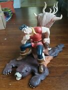 Disney's Beauty And The Beast - Gaston Scheming Suitor Figurine Wdcc