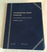 Washington Head Quarter 1932-1945 Book Number One Incomplete 23 Coins