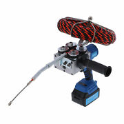 Cable Threading Machine Automatic Electric Plumber Wire Puller Pulling Kit Hot