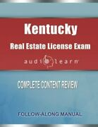 Kentucky Real Estate License Exam Audiolearn Complete Audio Review For The R...