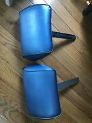 1968-1972 Buick Chevy Olds Pontiac Blue Headrests