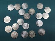 20 Pc Roll 1/4 Oz Silver Prepper Rounds Incuse Indian Coins 5 Ozs Total