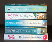 Lot Of 5 1-5 Sullivanand039s Crossing Complete Series Set Of Pb Books - Robyn Carr