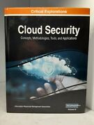 Cloud Security Concepts Methodologies Tools And Applications Hardcover