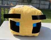 """Minecraft Bee Buddy Plush 27"""" Brand New Mojang -new With Tag-ns"""