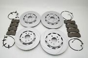 Aston Martin Rapide Front Rear Brake Pads And Rotors Topeuro 817