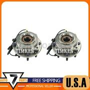 Front Wheel Bearing And Hub Assembly Timken 2x Fits 2011-2016 F-250 Super Duty