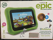 Leap Frog Epic Academy Edition Kids Learning Tablet Quad Core Wifi 16gb - 76e