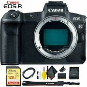 Canon Eos R Mirrorless Digital Camera Body Only + Ef To R Mount Adapter