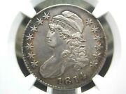1814 Capped Bust Half Dollar 50c Ngc Xf Details East Coast Coin And Collectables