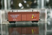 N Scale 42100 Micro Trains Mtl Hills Brothers Coffee 40' Wood Sheathed Box Car