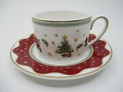 Prouna My Noel Cup And Saucer - 2 3/8  0609b