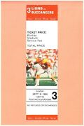 Tampa Bay Buccaneers A Detroit Lions 9-9-1990 Full Nfl Ticket Paul Gruber Photo