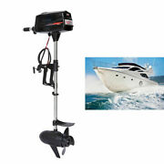 1800w 48v Electric Outboard Motor Brushless Inflatable Boat Engine 7 Horsepower