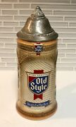 Vintage Old Style Lager Beer Stein- Handcrafted - 1989 Limited Edition- 001086