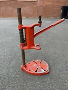 Vintage Bench Pillar Drill Stand English Made Model 5 1/4 Inch Rare
