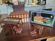 Disneyand039s Polynesian Resort Monorail Playset Theme Park Toy Accessory Boxed D499