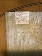 Stunning Discontinued Pindler Fabric Emmitt In Silver 20 Yards
