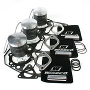 Wiseco Top End Piston Kit 66mm For 1996 Polaris Indy Xlt 600 Sks